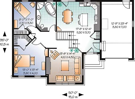First level image of Featured House Plan: BHG - 4779