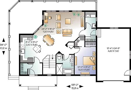 First level image of Featured House Plan: BHG - 4650