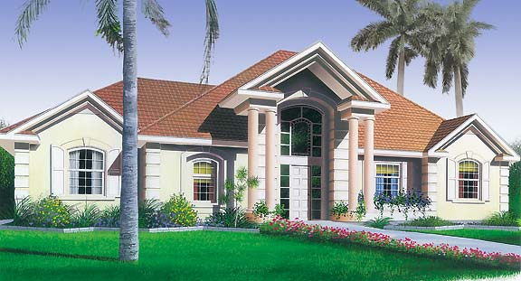 Gulf Breeze House Plan