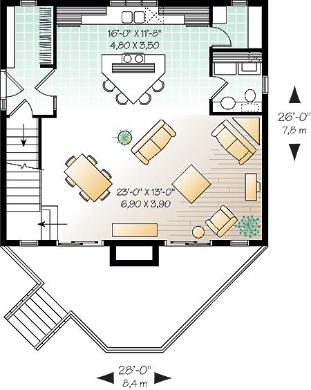First level image of Featured House Plan: BHG - 4762