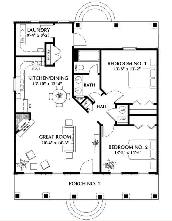 Featured House Plan: BHG - 5650 on pet friendly house plans, modern house plans, 2 bedroom house plans, patio home 2 bedroom plans, 6 bedroom house plans, house house plans, duplex and triplex house plans, 20 bedroom house plans, blank building plans, eplans craftsman house plans, split bedroom country house plans, 3 bedroom house plans, square or rectangular house plans, upstairs kitchen home plans, 5 bedroom ranch house plans, oceanfront house plans, master bedroom first floor house plans, 4-bedroom country style house plans, castle mansion house plans, 10 bedroom mansion plans,