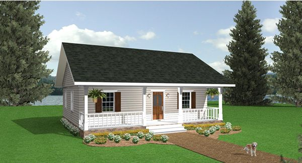 Cozy Retreat House Plan