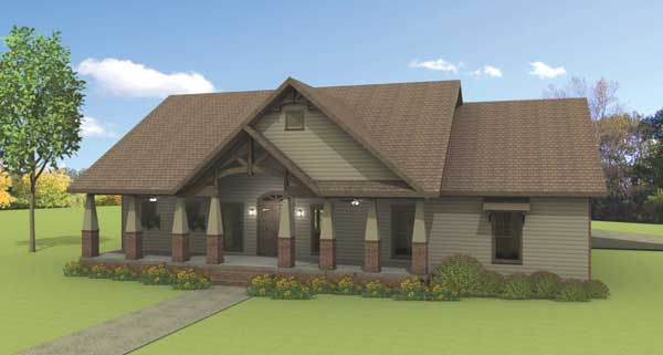 Rustic Splendor House Plan