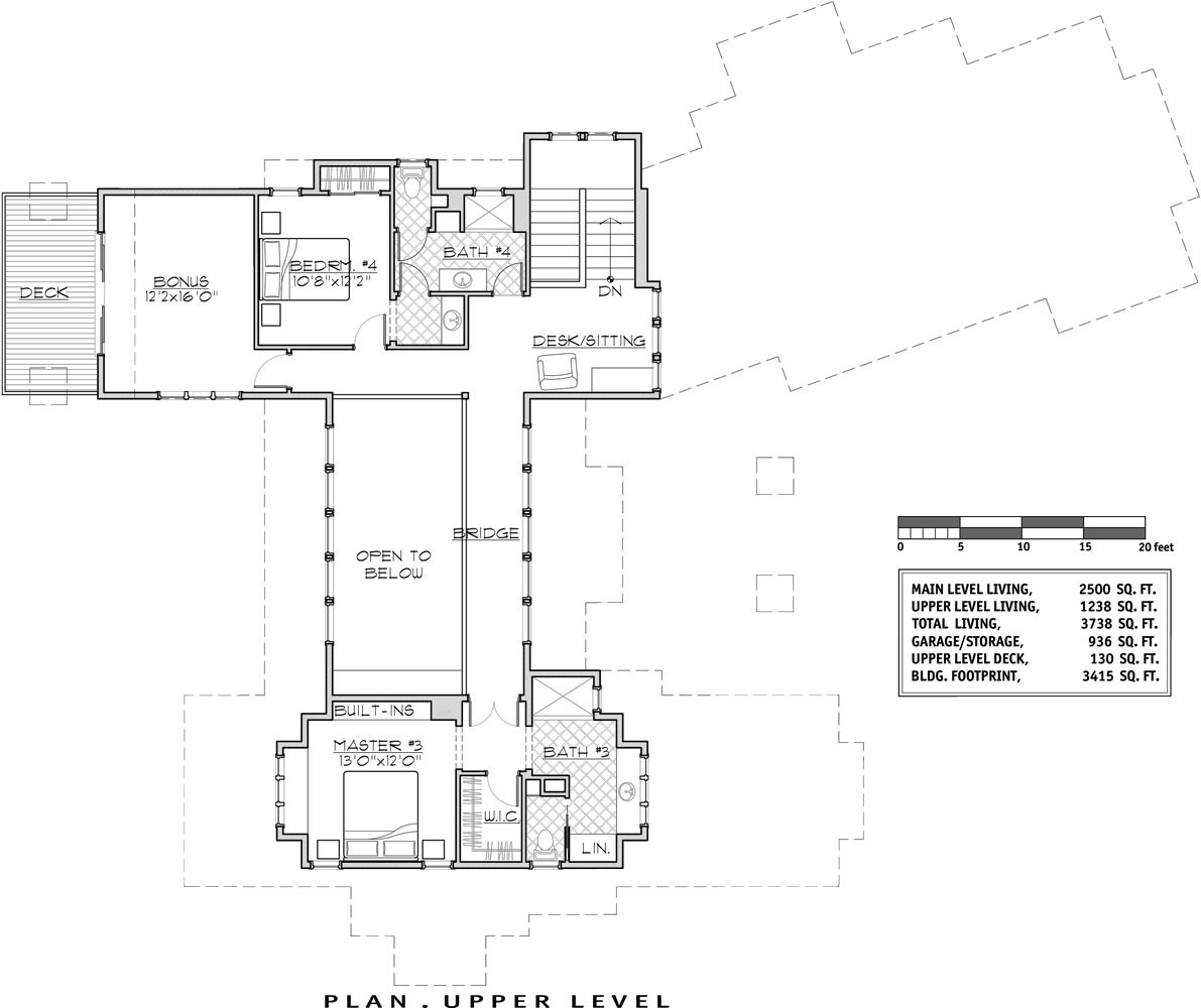 2nd Floor image of Featured House Plan: BHG - 9046