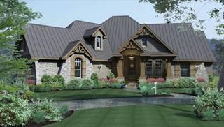 Montagna di grazioso house plan