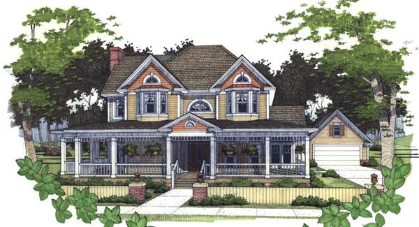 The Brenham House Plan