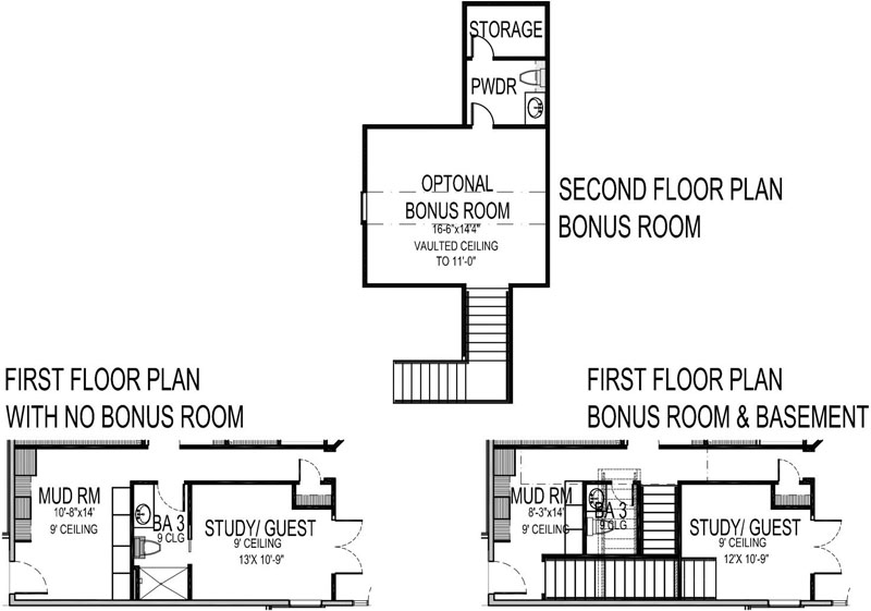 Plan Options image of Featured House Plan: BHG - 9167