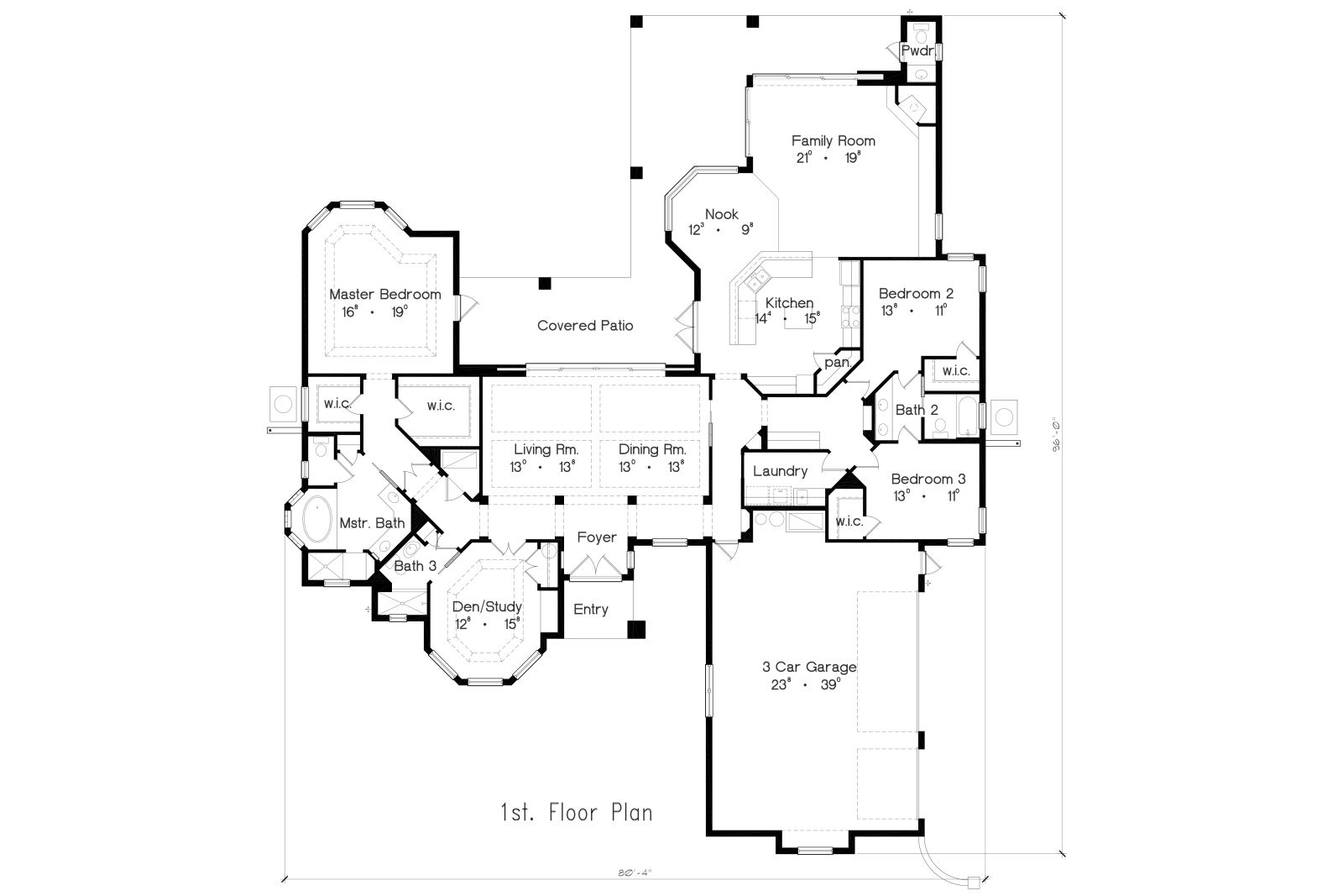 Floor Plan image of Featured House Plan: BHG - 4944