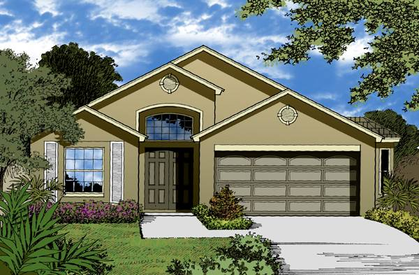 The Amelia Island Collection House Plan
