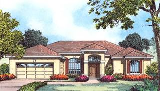 image of The Emerald Coast Collection House Plan