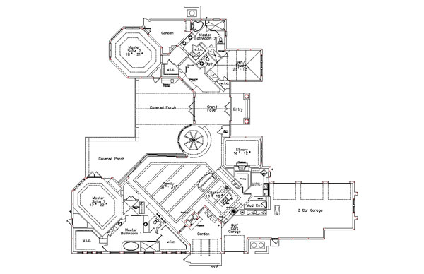 Floor Plan image of Featured House Plan: BHG - 4915