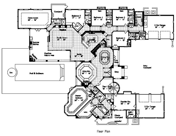Floor Plan image of Featured House Plan: BHG - 4935