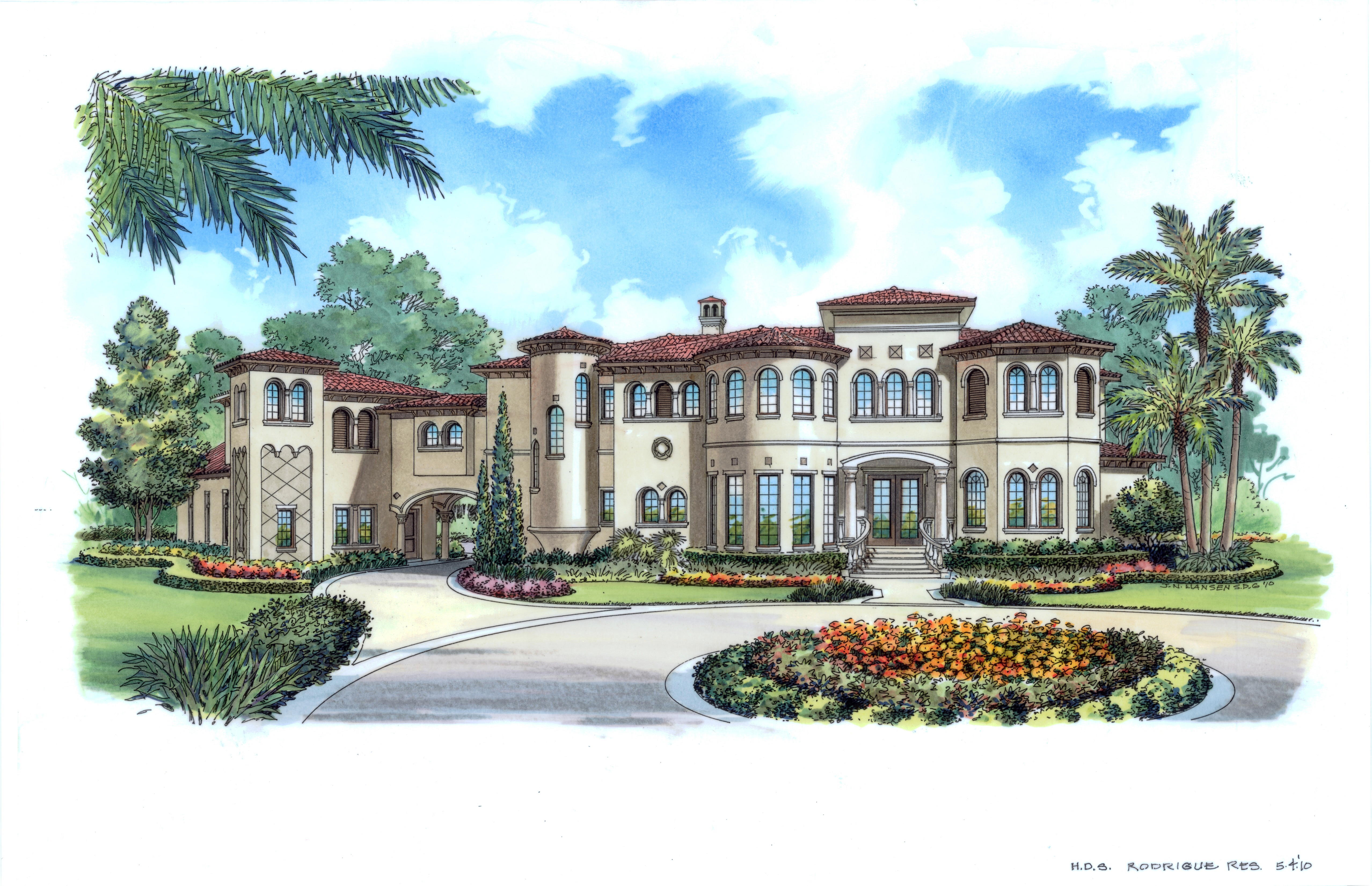 Estimate The Cost To Build For Palazzo Gracie Bhg 4924