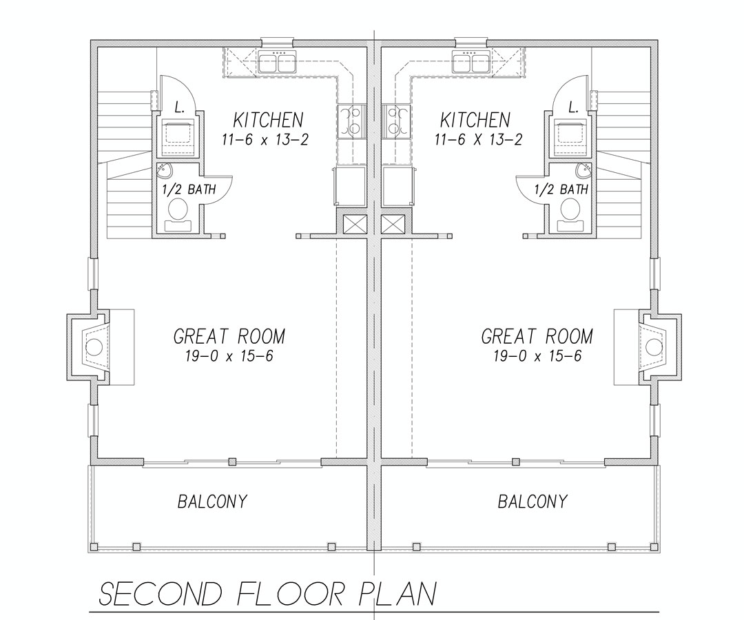 2nd Floor Plan image of Featured House Plan: BHG - 9171