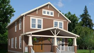 image of Urban Country Style Craftsman House Plan