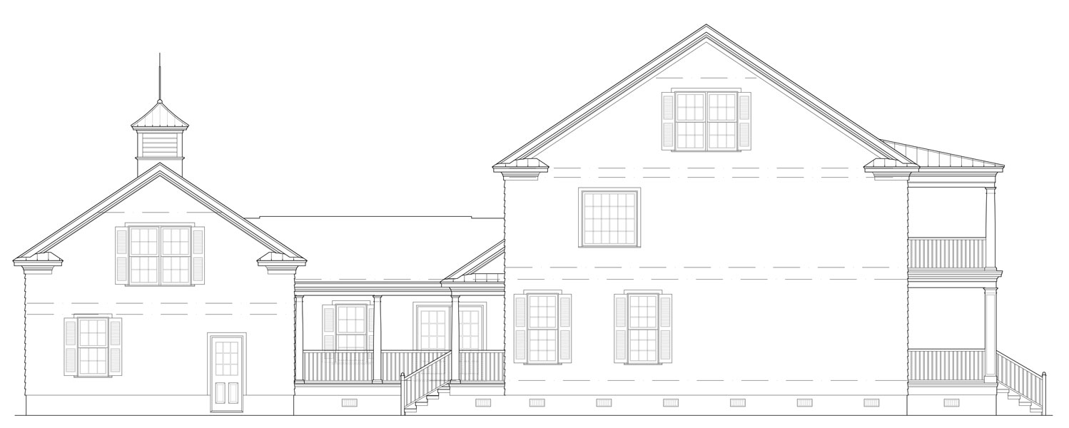 Right Side Elevation image of Featured House Plan: BHG - 9323