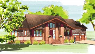 image of The Suburban Craftsman House Plan