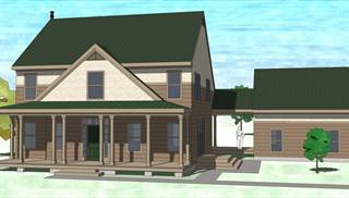 image of Four Bedroom Farmhouse House Plan