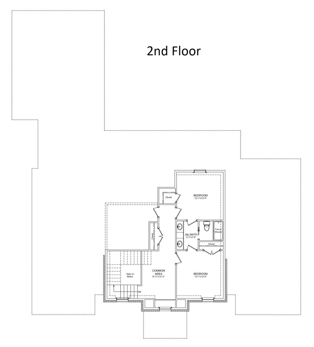 2nd Floor image of Featured House Plan: BHG - 6902