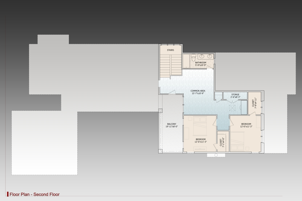 2nd Floor image of Featured House Plan: BHG - 9625