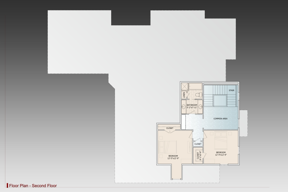 2nd Floor image of Featured House Plan: BHG - 9627