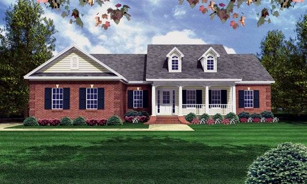 The Azalea Trail House Plan