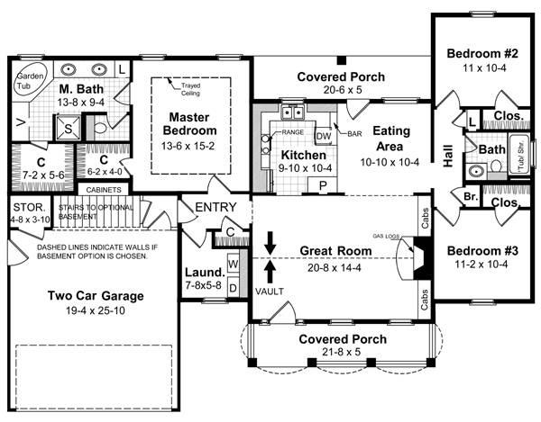 Floorplan image of Featured House Plan: BHG - 5715
