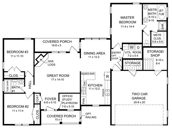 Floorplan image of Featured House Plan: BHG - 5724
