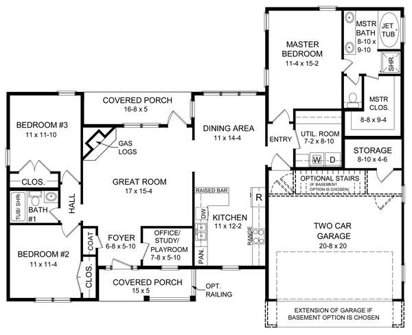 Floorplan image of Featured House Plan: BHG - 5742