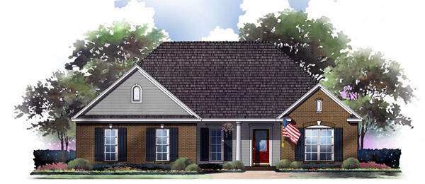 The Canebrake House Plan