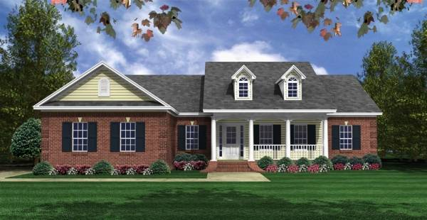 Featured House Plan Bhg 3081