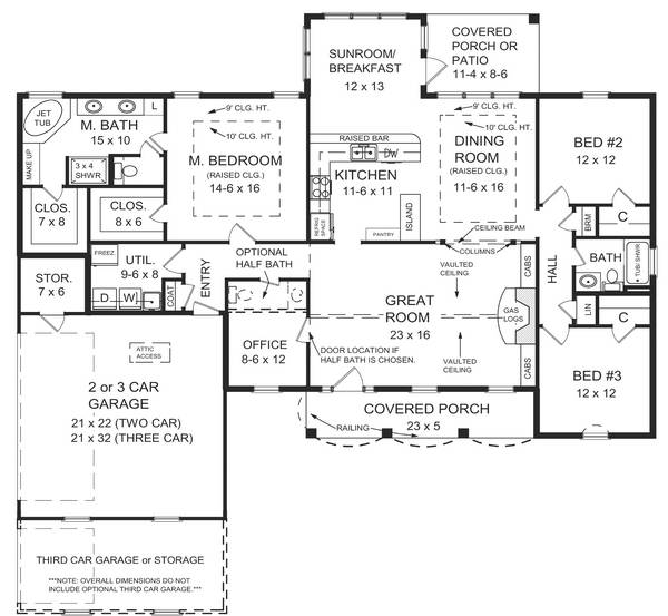 Floorplan image of Featured House Plan: BHG - 5697