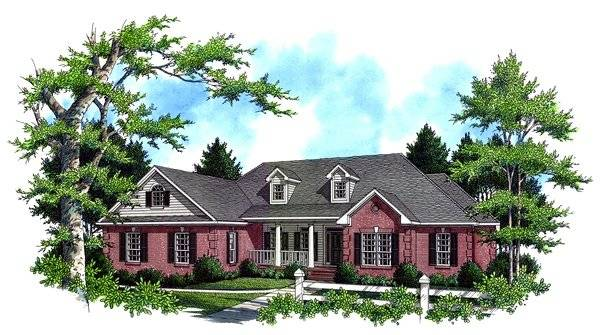 The Hatten House Plan