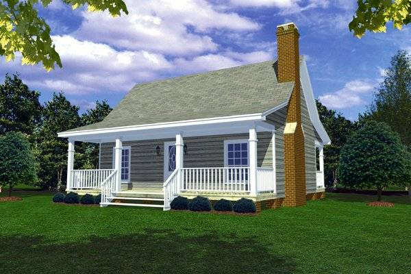 Country Porches House Plan