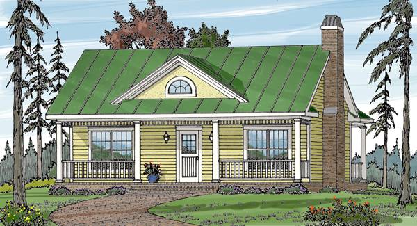 COUNTRY COTTAGE 1 House Plan
