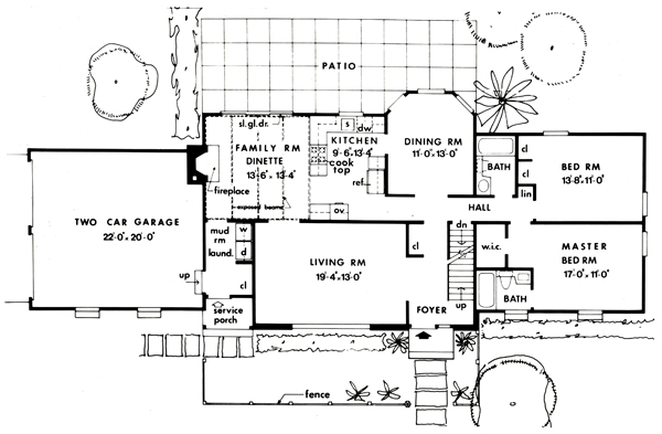 First Floor Plan image of Featured House Plan: BHG - 3859