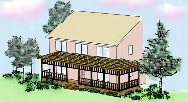 New Front Porch (P0013) House Plan