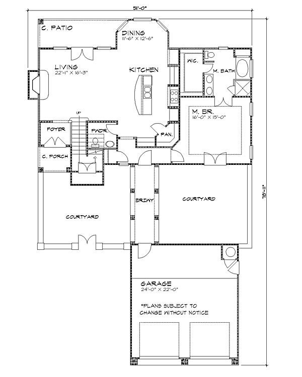 Floor Plan image of Featured House Plan: BHG - 4225
