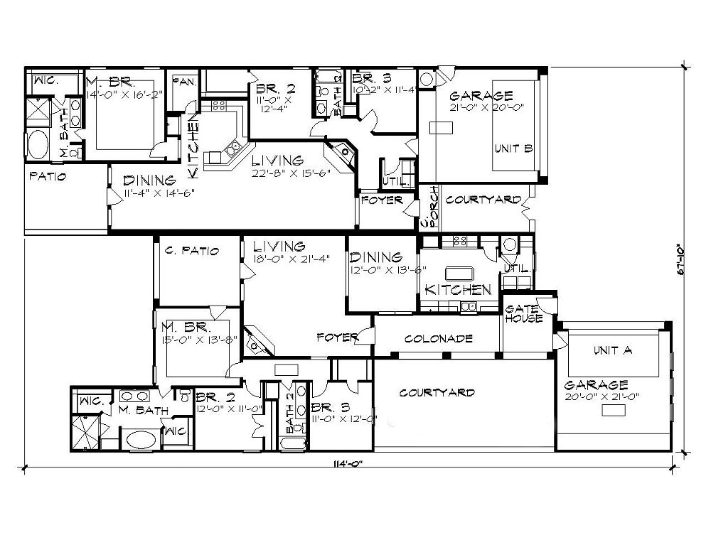 Floor Plan image of Featured House Plan: BHG - 5197