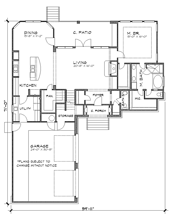 Floor Plan image of Featured House Plan: BHG - 4233