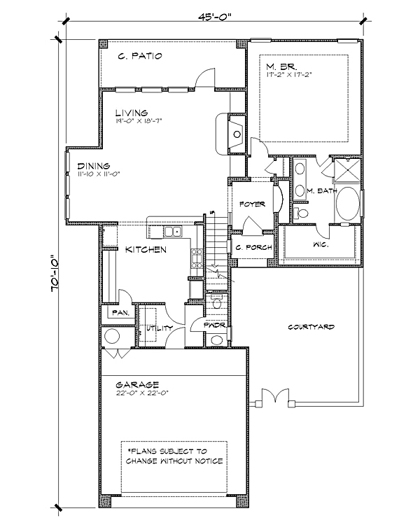 Floor Plan image of Featured House Plan: BHG - 4227