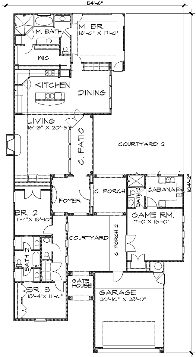 Floor Plan image of Featured House Plan: BHG - 4235