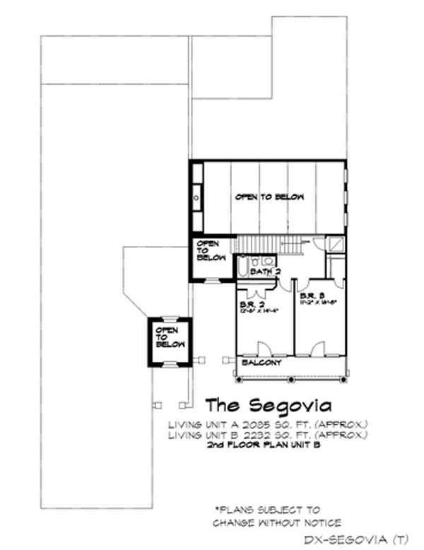 2nd floor image of Featured House Plan: BHG - 4264