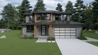 image of Contemporary 205 House Plan