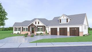 image of 18-120 Cont. Farmhouse 816 House Plan