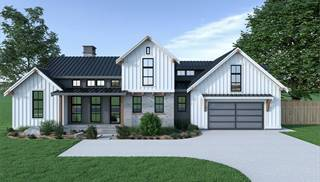 image of Contemporary Farmhouse 820 House Plan