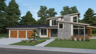 image of Contemporary 224 House Plan