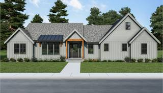 image of Cont. Farmhouse 849 House Plan