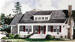 image of Rolling Timber House Plan
