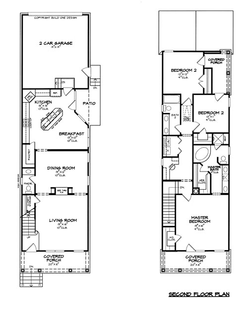 Floor Plan image of Featured House Plan: BHG - 8399